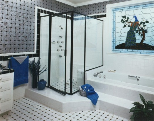 Framed corner unit chevy chase glass - Alumax shower door and buying considerations ...