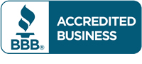 Accredited Business from Better Busines Bureau