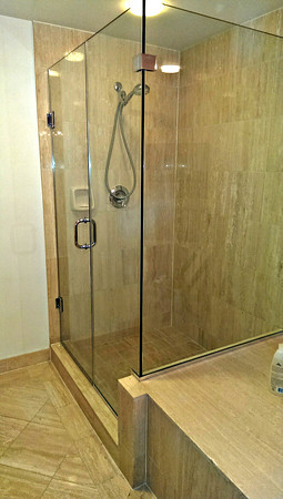 Shower And Tub Enclosures Chevy Chase Glass - Corner Shower