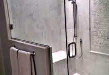 Frameless Shower Unit