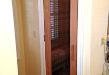 Sauna Door
