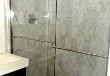 Frameless Sliding Shower Unit