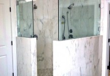 Frameless Shower Panels