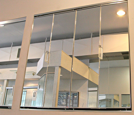 Mirrored Glass Kitchen Cabinets: Mirrored Cabinet Doors